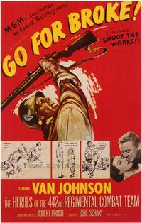 Go for Broke - 27 x 40 Movie Poster - Style A