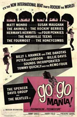 Go-Go Mania - 11 x 17 Movie Poster - Style A