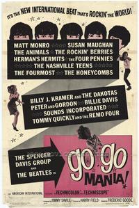 Go-Go Mania - 27 x 40 Movie Poster - Style A