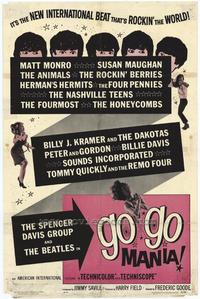 Go-Go Mania - 43 x 62 Movie Poster - Bus Shelter Style A