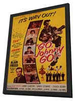 Go, Johnny, Go! - 27 x 40 Movie Poster - Style A - in Deluxe Wood Frame