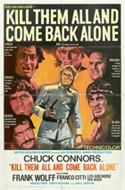 Go Kill Everybody and Come Back Alone - 11 x 17 Movie Poster - Style B