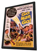 Go, Man, Go - 11 x 17 Movie Poster - Style B - in Deluxe Wood Frame