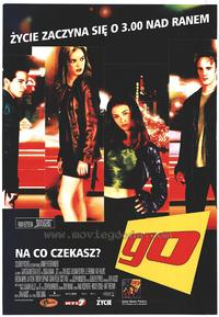 Go - 11 x 17 Poster - Foreign - Style A