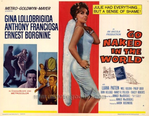 Go Naked in the World - 11 x 14 Movie Poster - Style C