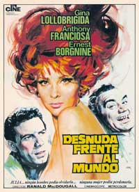 Go Naked in the World - 11 x 17 Movie Poster - Spanish Style A