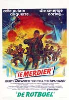 Go Tell the Spartans - 27 x 40 Movie Poster - Belgian Style A
