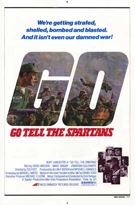 Go Tell the Spartans - 11 x 17 Movie Poster - Style A