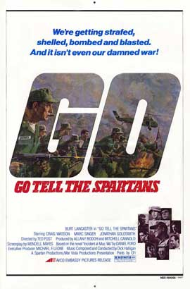 Go Tell the Spartans - 27 x 40 Movie Poster - Style A