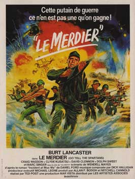 Go Tell the Spartans - 11 x 17 Movie Poster - French Style A