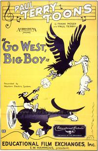 Go West, Big Boy - 43 x 62 Movie Poster - Bus Shelter Style A