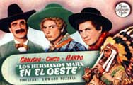 Go West - 11 x 17 Movie Poster - Spanish Style A