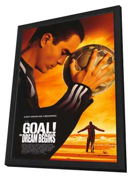 Goal! - 11 x 17 Movie Poster - Style A - in Deluxe Wood Frame