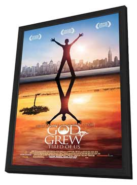 God Grew Tired of Us - 11 x 17 Movie Poster - Style A - in Deluxe Wood Frame