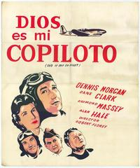 God Is My Co-Pilot - 11 x 17 Movie Poster - Spanish Style A