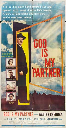 God is my Partner - 14 x 36 Movie Poster - Insert Style A