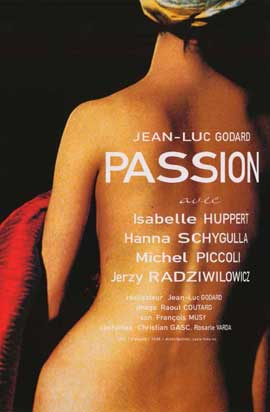 Godard's Passion - 11 x 17 Movie Poster - Japanese Style A