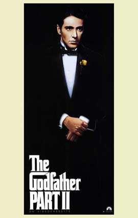 The Godfather, Part 2 - 11 x 17 Movie Poster - Style C
