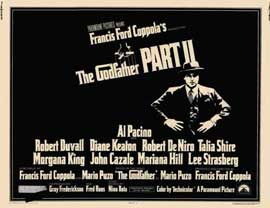 The Godfather, Part 2 - 11 x 14 Movie Poster - Style A