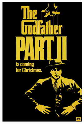 The Godfather, Part 2 - 27 x 40 Movie Poster - Style B