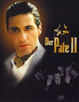 The Godfather, Part 2 - 27 x 40 Movie Poster - German Style F