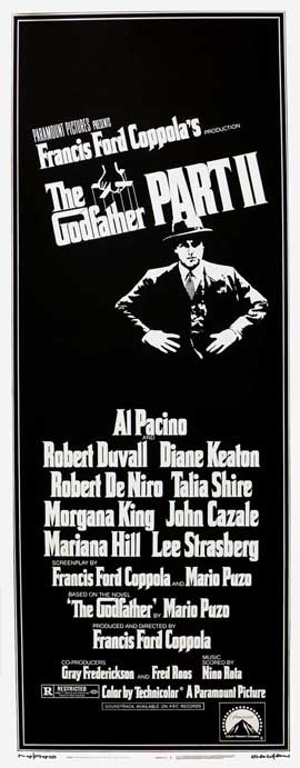 The Godfather, Part 2 - 14 x 36 Movie Poster - Insert Style A