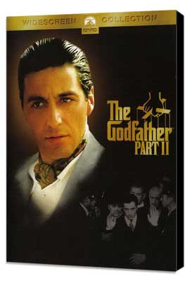 The Godfather, Part 2 - 27 x 40 Movie Poster - Style C - Museum Wrapped Canvas