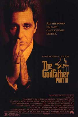The Godfather, Part 3 - 11 x 17 Movie Poster - Style B