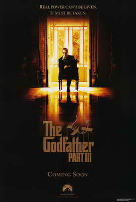 The Godfather, Part 3 - 27 x 40 Movie Poster - Style A