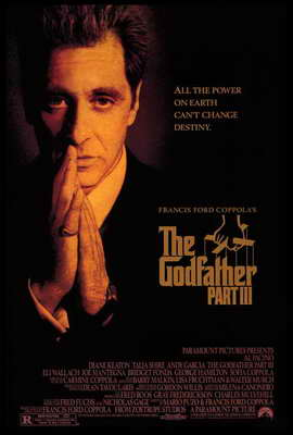 The Godfather, Part 3 - 27 x 40 Movie Poster - Style B