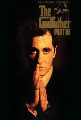 The Godfather, Part 3 - 27 x 40 Movie Poster - Style C