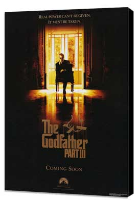 The Godfather, Part 3 - 11 x 17 Movie Poster - Style A - Museum Wrapped Canvas