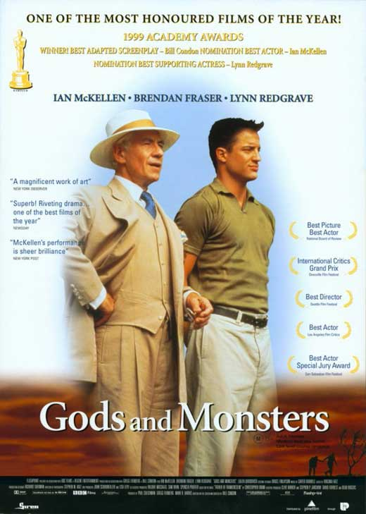 gods and monsters movie posters from movie poster shop