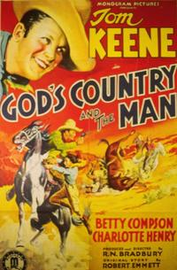 God's Country and the Man - 11 x 14 Movie Poster - Style A