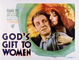 God's Gift to Women - 11 x 14 Movie Poster - Style A