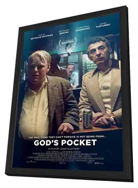 God's Pocket - 11 x 17 Movie Poster - Style A - in Deluxe Wood Frame