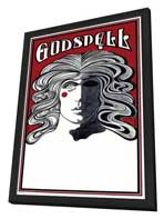 Godspell (Broadway) - 27 x 40 Poster - Style A - in Deluxe Wood Frame