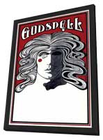 Godspell (Broadway) - 11 x 17 Poster - Style A - in Deluxe Wood Frame