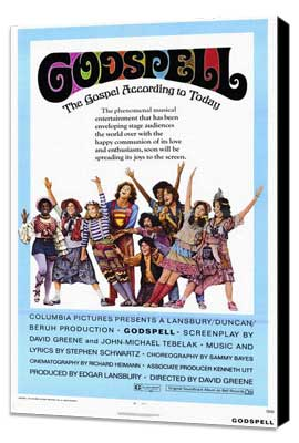 Godspell - 27 x 40 Movie Poster - Style A - Museum Wrapped Canvas
