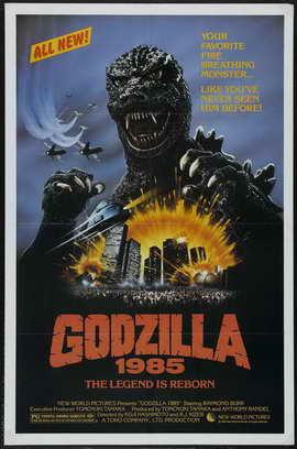 Godzilla 1985 - 11 x 17 Movie Poster - Style A