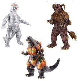 Godzilla 1985 - Wave 4 Collectible 6-Inch Action Figure Set