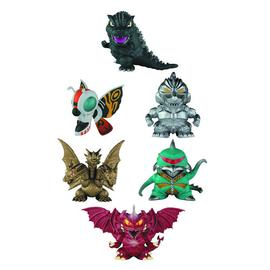 Godzilla 1985 - Chibi Super Deformed Mini-Figure 6-Pack