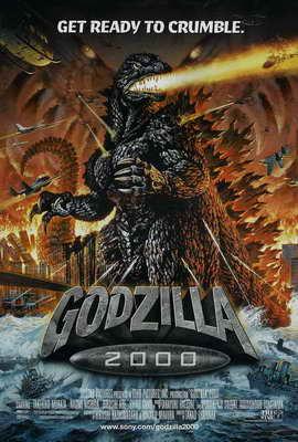 Godzilla 2000 - 27 x 40 Movie Poster - Style A
