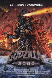 Godzilla 2000 - 11 x 17 Movie Poster - Style A - Museum Wrapped Canvas