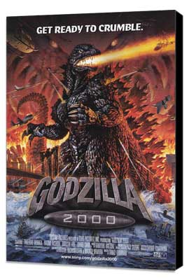 Godzilla 2000 - 27 x 40 Movie Poster - Style A - Museum Wrapped Canvas