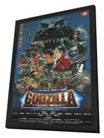 Godzilla: Final Wars - 11 x 17 Movie Poster - Japanese Style A - in Deluxe Wood Frame