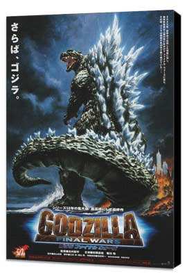 Godzilla: Final Wars - 11 x 17 Movie Poster - Japanese Style B - Museum Wrapped Canvas