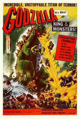 Godzilla, King of the Monsters - 27 x 40 Movie Poster
