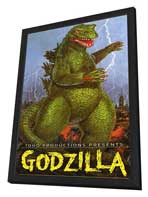 Godzilla, King of the Monsters - 11 x 17 Movie Poster - Style D - in Deluxe Wood Frame