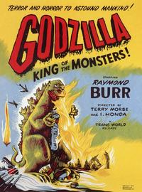 Godzilla, King of the Monsters - 11 x 17 Movie Poster - Style A